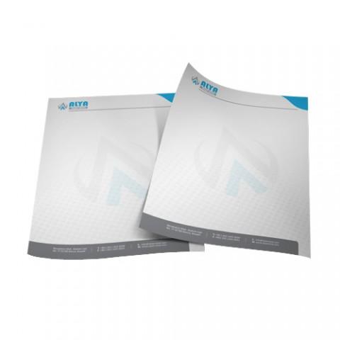 4 renk antetli kağıt fiyatları