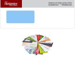 4 renk pencereli diplomat zarf fiyatları