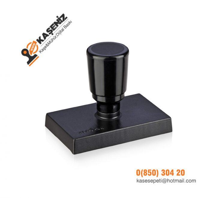 Sırdaş Battal Plastik Sap Kaşe 80x50mm