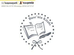 Kişiye Özel Kitap Kaşesi 18